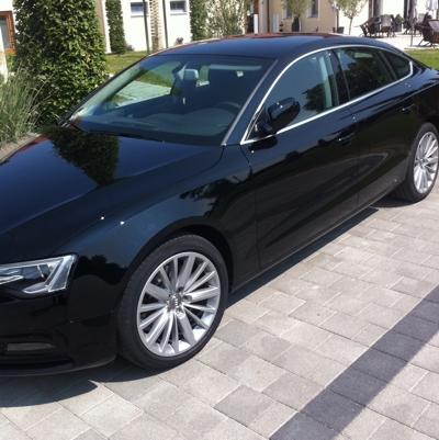 Audi A5 versiegelt
