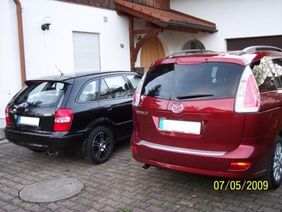Mazda 323 und Mazda5