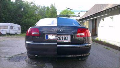 Lackversiegelung Audi A3