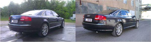 Nano Lackversiegelung Audi A8