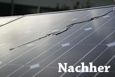 Photovoltaik versiegeln